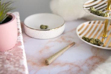 Shop Luxury Pink Marble Collection - Marijuana Lifestyle Photos - The Cannabiz Agency Images